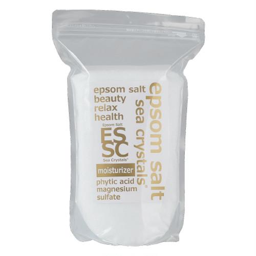 エプソムソルト モイスチャーライザー 4kg 入浴剤 フィチン酸配合 弱酸性浴用化粧品 化粧水のような入浴でしっとり保湿 放射能検査 品質検査済 バスソルト