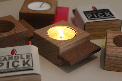 Candle Pick ウッド