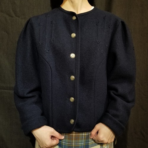 C&A  Boiled wool tyrolean jacket [H-100]