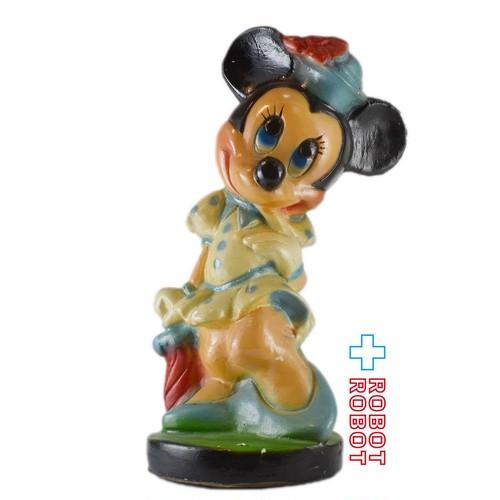 ディズニー ミニーマウス 陶器製 セラミック バンク メキシコ