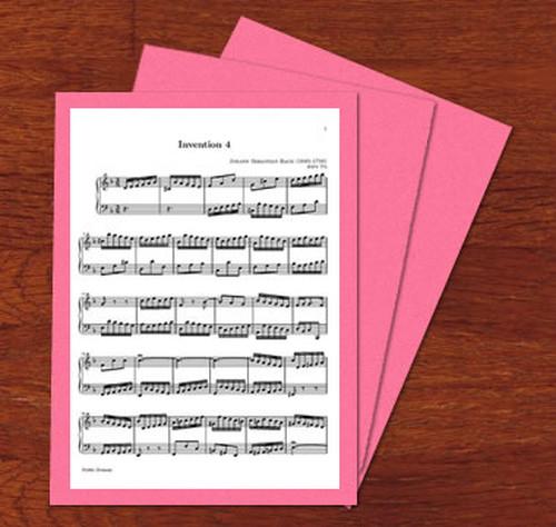 楽譜台紙 1枚用