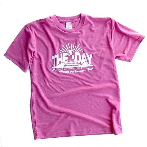 ORIGINAL】THE DAY TRAIL T-SHIRTS 2017 HEATHER PINK