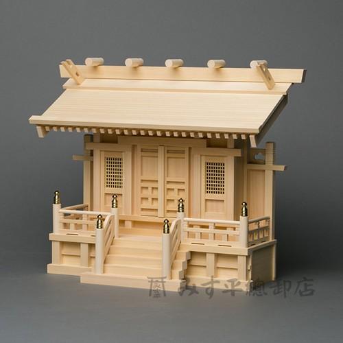 横通三社宮 板屋根(片屋根)1尺5寸(一枚扉)