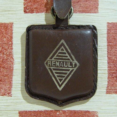 フランス RENAULT[ルノー]自動車販売会社ヴィンテージ キーホルダー