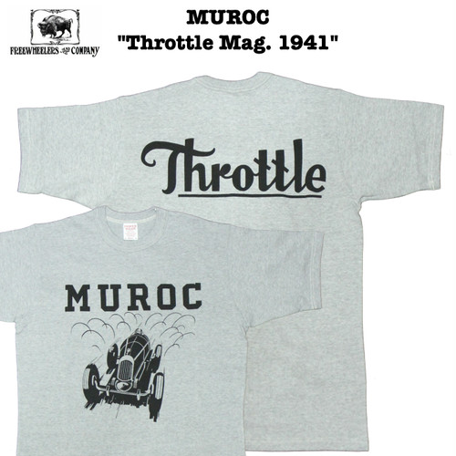 "MUROC ""Throttle Mag. 1941"" FREEWHEELERS/フリーホイーラーズ POWER WEAR/パワーウェア #1925019"
