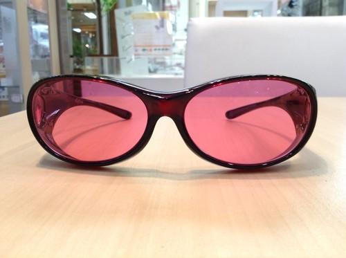 美美ピンク ノーマルタイプ☆気持ちの乱れは健康的な美しさの大敵。新しい美容習慣がはじめられるサングラスです。