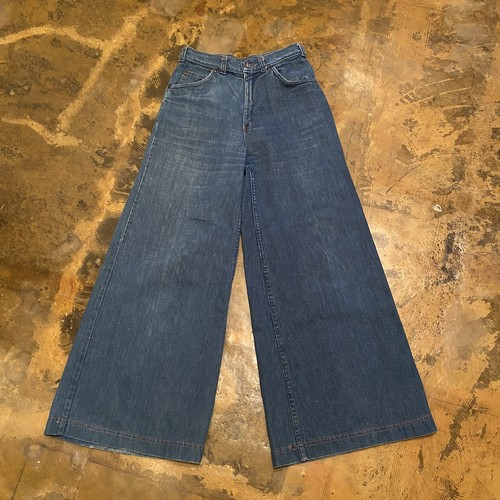 70s  Baggy denim pants