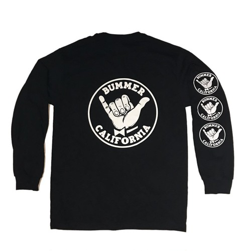 Bummer California - SHAKA BACK PRINT LONG SLEEVE T-SHIRT