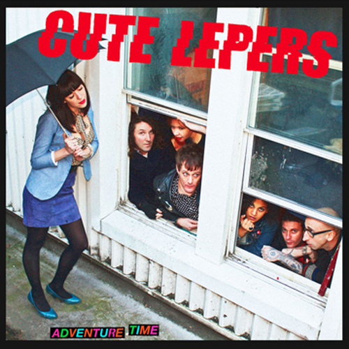 cute lepers / adventure time cd