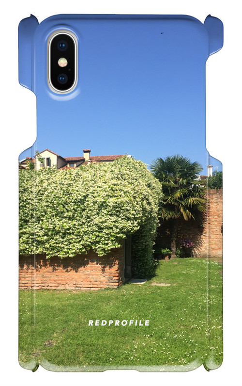 スマートフォンケース・緑の屋根<iphoneX/その他>