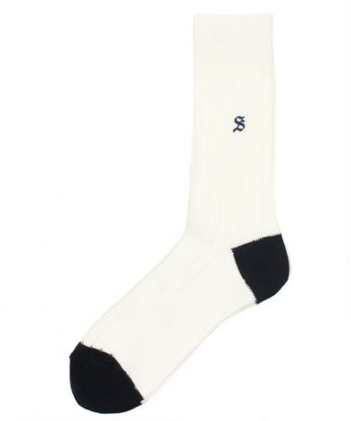 SUNNY SPORTS/SN×&LIFE COLOR RIB SOX