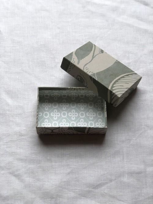 小箱 <スウェーデンの紙/ Hares-green01>
