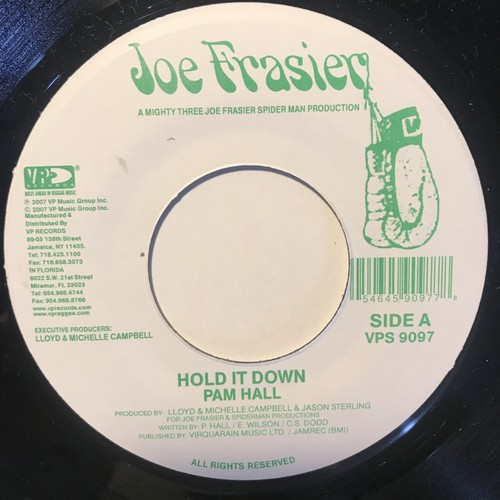 Pam Hall - Hold It Down【7-10838】
