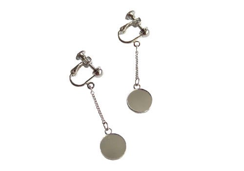 """Uncertain Surface"" Earrings(イヤリング)L"