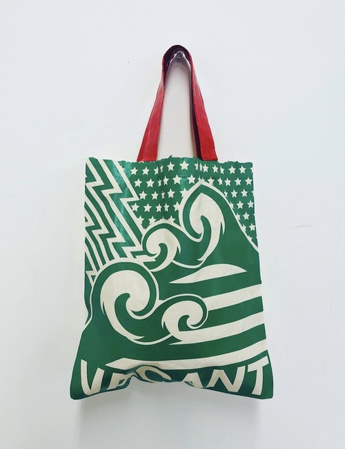 Get over SALE★復刻 A4eco-tote GR×RD