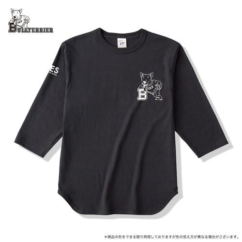 50% OFF ブルテリア ベースボールTシャツ スミ黒