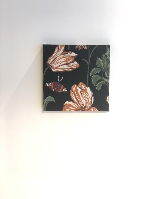 北欧アート|ボタニカルのアートパネル<43498A20 / Dark Green>