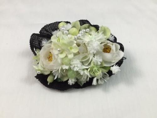 お花の髪飾り1