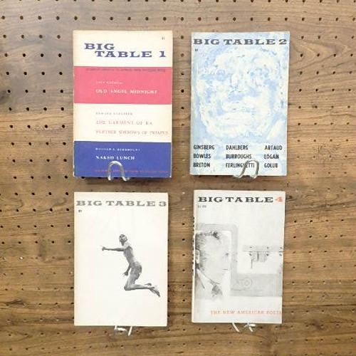 BIG TABLE 1-4(4冊セット) / ジャック・ケルアック、W.S.バロウズ、アレン・ギンズバーグ他