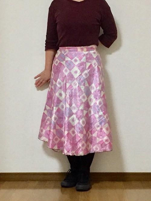 dss-049 シルクサリー巻きスカート ショート