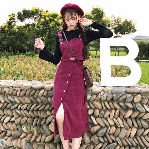【セットアップ】無地人気キュートスカート+シャツセットアップ23685782
