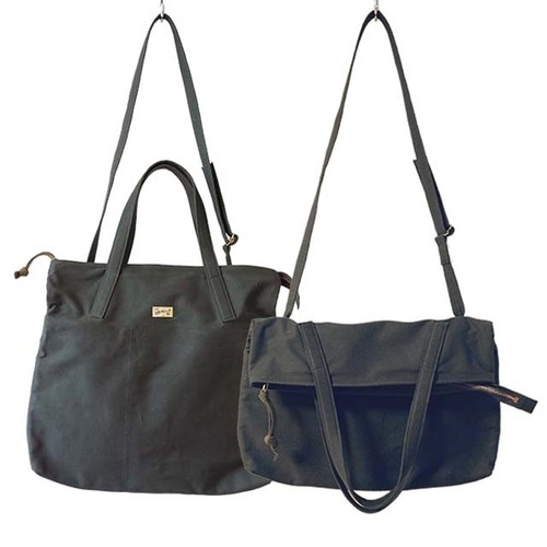 ALL-PURPOSE TOTE (CHARCOAL)