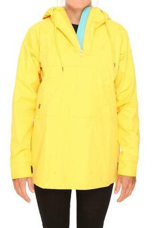 RAIN PULL OVER -YELLOW-
