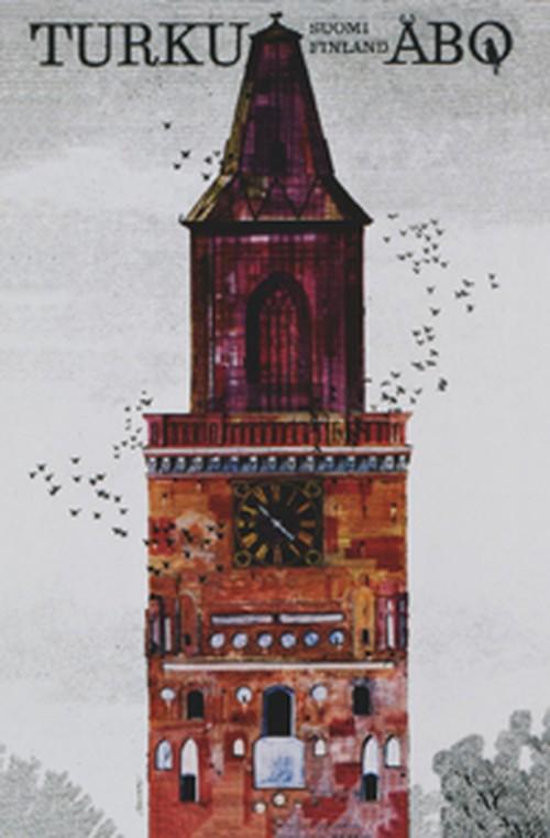 レトロポスター50x70 「トゥルク・オーボ」 EB