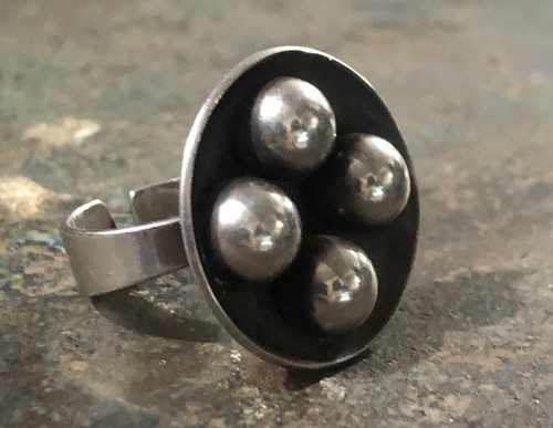 1960s ABSTRACT RING