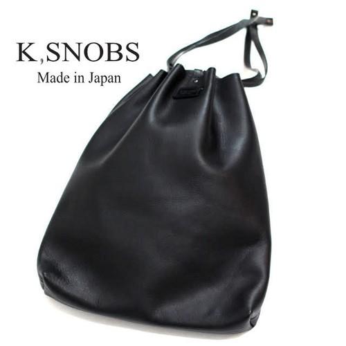 String Pouch | 巾着 ストリングポーチ 【K,SNOBS ケースノッブ】