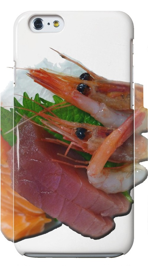 iPhone6が甘エビ刺身~Sweet shrimp sashimi~