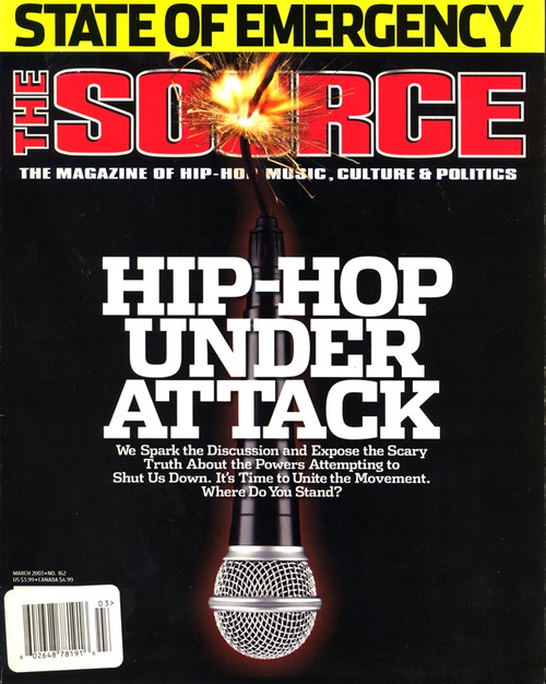 THE SOURCE MAGAZINE MARCH 2003 #162