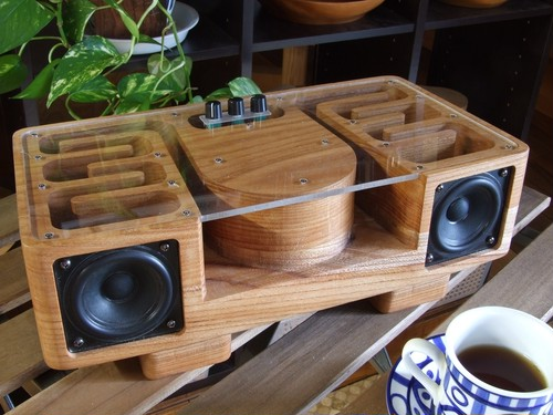Wood Speaker 樹音【Ju-On】けやき