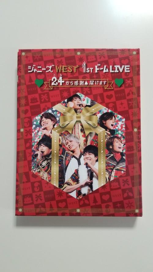 ジャニーズWEST 1stドーム LIVE 24から感謝届けます 初回盤 【Blu-ray】