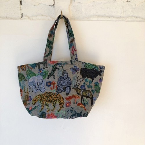 "Nathalie Lete Mini Bag ""Jungle"""