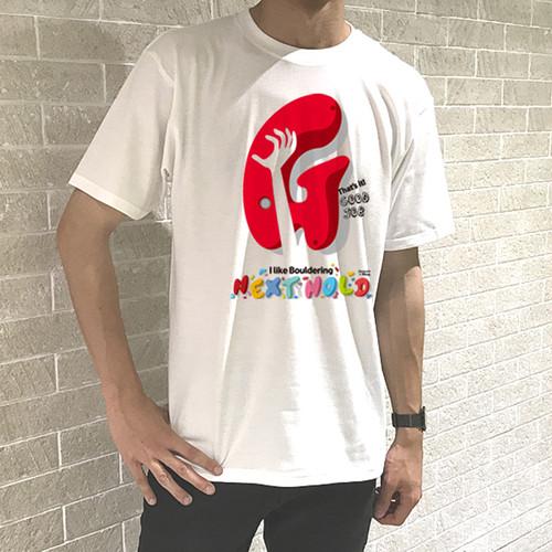 """ボルダリング """"G"""" メンズ Tシャツ"""