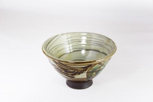 【受注生産対応】クバ結紋 4寸 飯まかい 茶