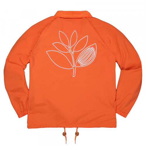 MAGENTA WINDBREAKER OUTLINE JKT  ORANGE マゼンタ コーチジャケット