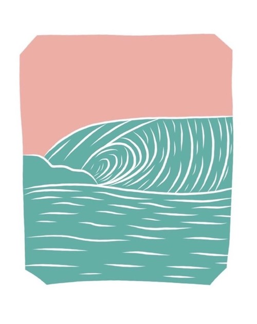 [ily drawing]Fun Waves