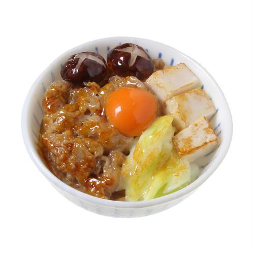 [0481]食品サンプル屋さんのマグネット(すき焼き丼)【メール便不可】