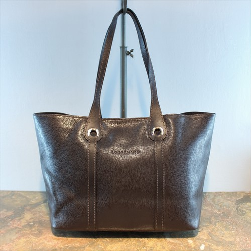 .LONGCHAMP LEATHER TOTE BAG MADE IN FRANCE/ロンシャンレザートートバッグ 2000000035277