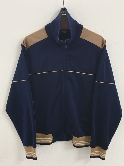 JOCKEY : rib border track jacket (used)