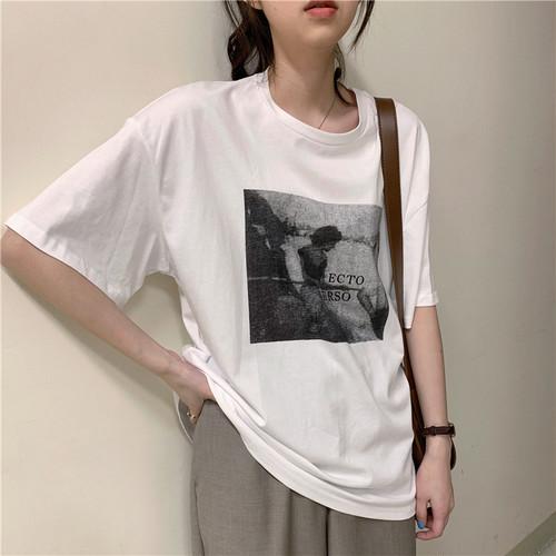 フォトプリントTシャツ RD5754