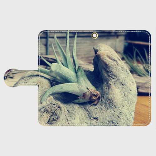Android対応 手帳型オリジナルスマホケース ~with Plants~ 受注生産品