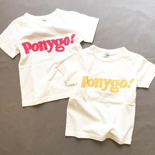 pony go round pony go! s/s tee xs~xxl