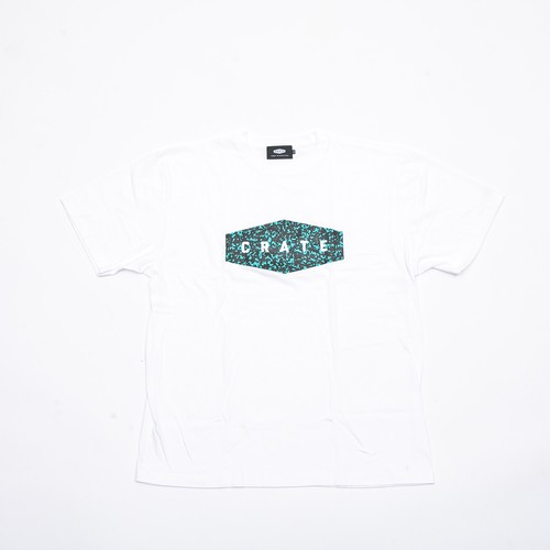 NOTE BOOK T-SHIRTS WHITE×GREEN