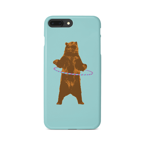 [iPhone ケース] Bear and ring