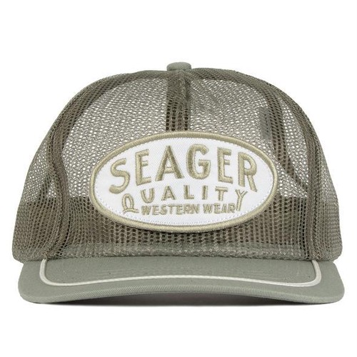SEAGER #Old Town All Mesh Snapback Sage