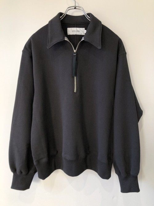 残り1点【JOHN MASON SMITH】HALF ZIP SWEAT SHIRT
