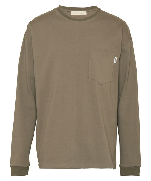 HEAVY WEIGHT POCKET LONG SLEEVE[REC446]